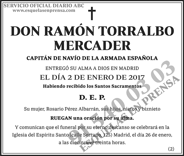 Ramón Torralbo Mercader